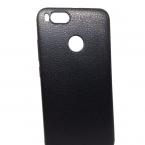 Xiaomi Bőrhatású fekete szilikontok 0.5mm
